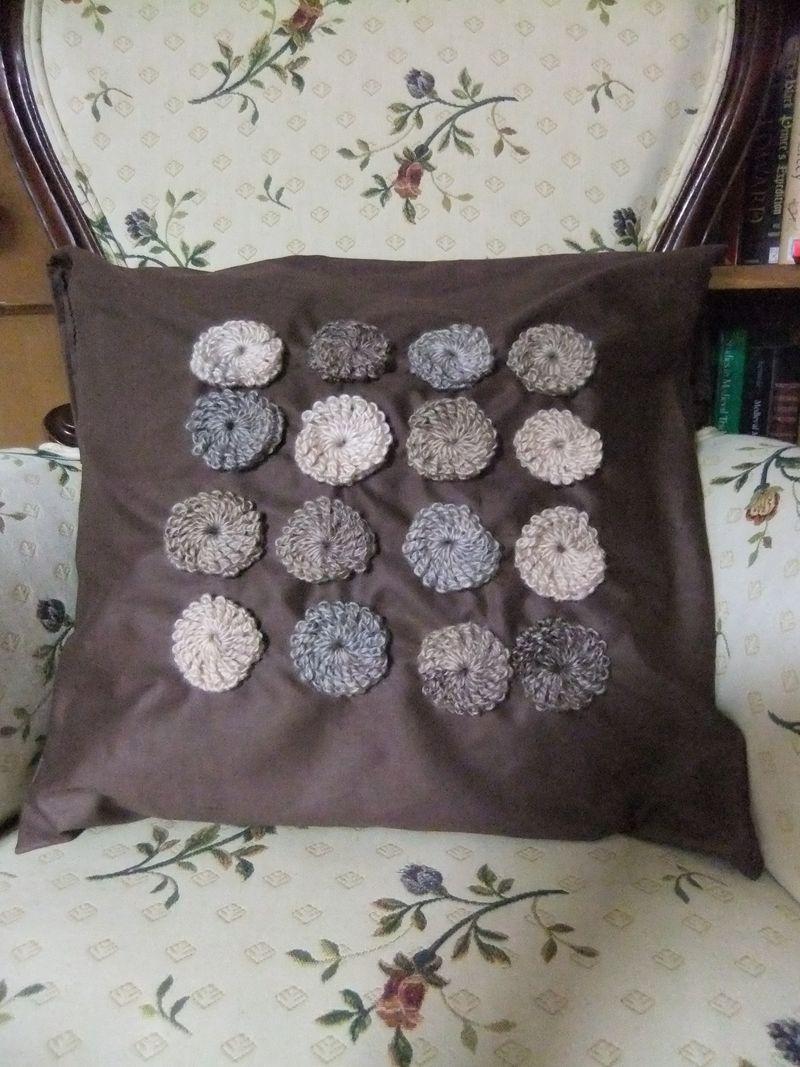 Crochet puff 1